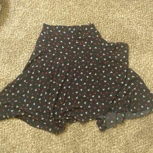 H&M blue skirt size 10
